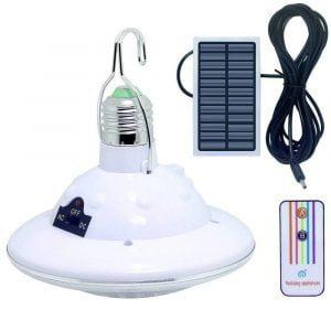 מנורה סולארית לקמפינג