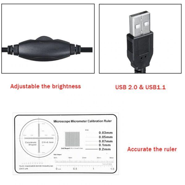 מיקרוסקופ דיגיטלי עם חיבור USB למחשב
