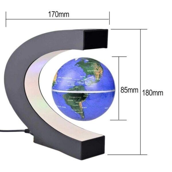 גלובוס מגנטי מרחף באוויר