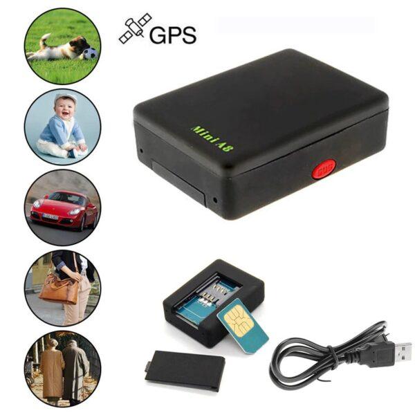 מכשיר מעקב זעיר עם GPS