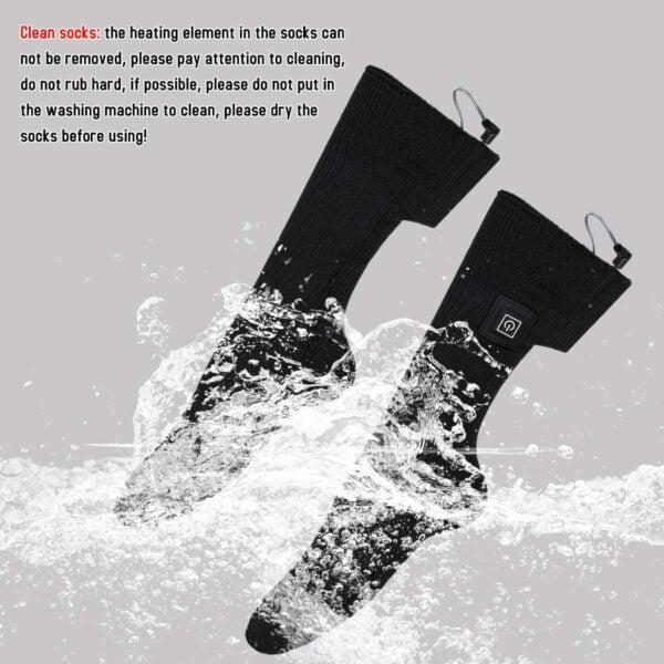 גרביים עם חימום חשמלי