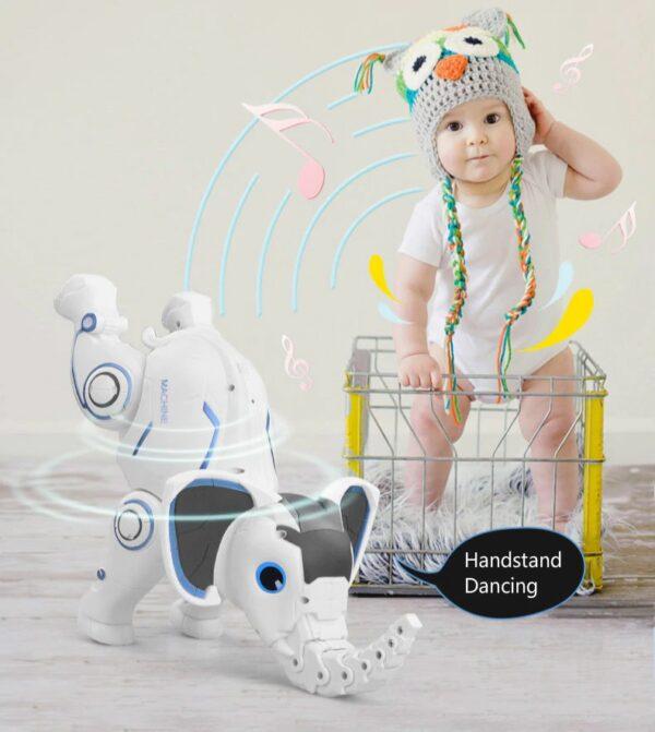 פיל רובוטי על שלט
