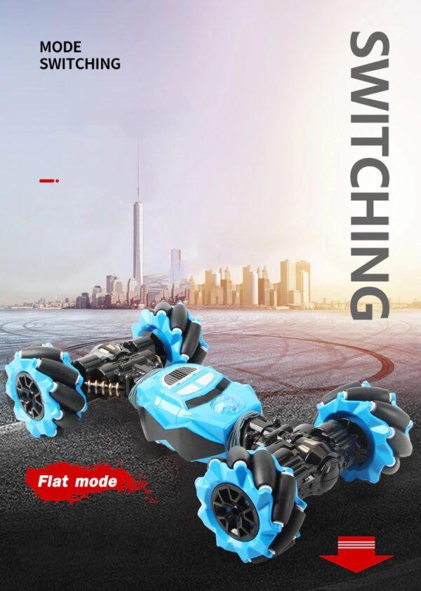 מכונית מירוץ נשלטת בתנועות היד