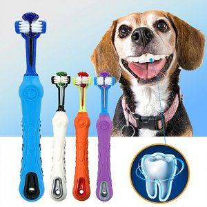 מברשת שיניים מקצועית לכלב
