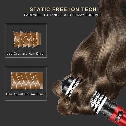 מברשת שיער חשמלית 2 ב-1
