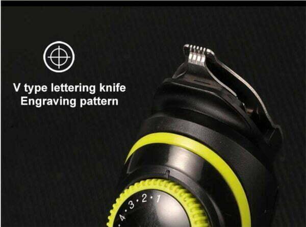 מכונת תספורת מקצועית משולבת עם תצוגת לד