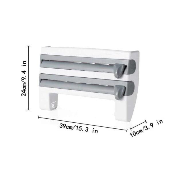 מתקן משולב לנייר סופג 4 ב-1