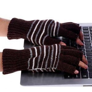 כפפות חימום צמר USB