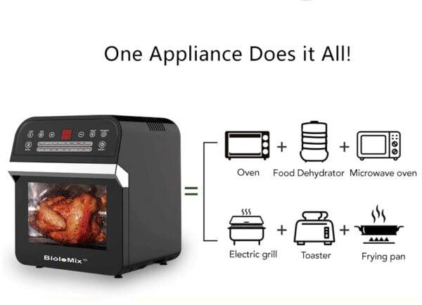 תנור טיגון חכם 12 ליטר