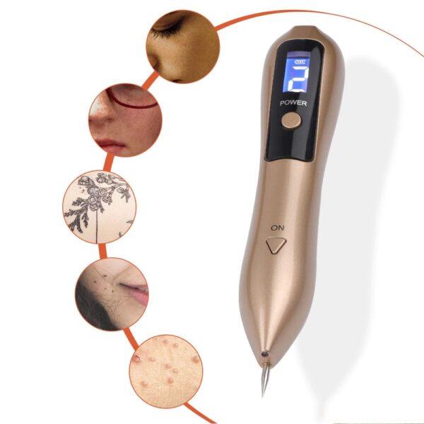 עט נטען להסרת שומות וקעקועים ללא כאב