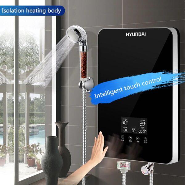 מחמם מים דיגיטלי מיידי עמיד למים למקלחת