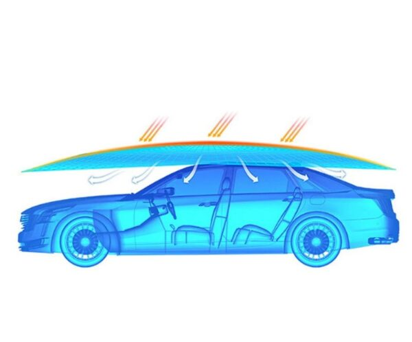 סוכך חשמלי נטען לרכב
