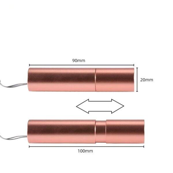 פנס זעיר נטען עמיד למים בעוצמה של 350 לומנס