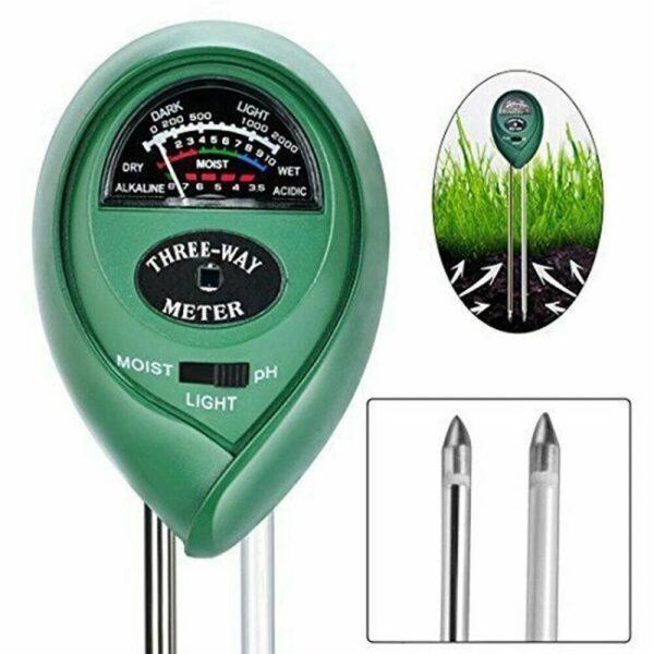 מכשיר לבדיקת 3 היסודות החיוניים בגידול צמחים ועציצים
