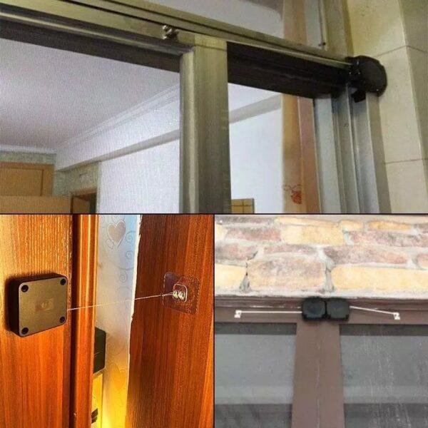 מנגנון אוטומטי לסגירת דלתות, חלונות ומגירות