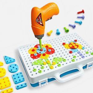משחק המברגה תלת מימד 240 חלקים