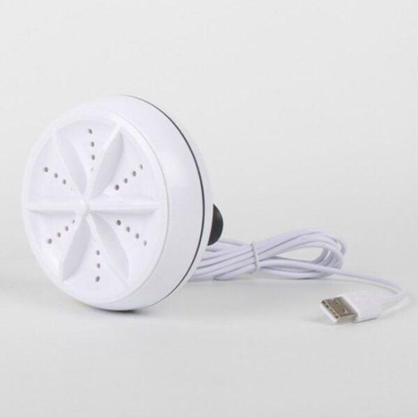 מכשיר קומפקטי שהופך כל דלי או כיור למדיח כלים או מכונת כביסה טורבו