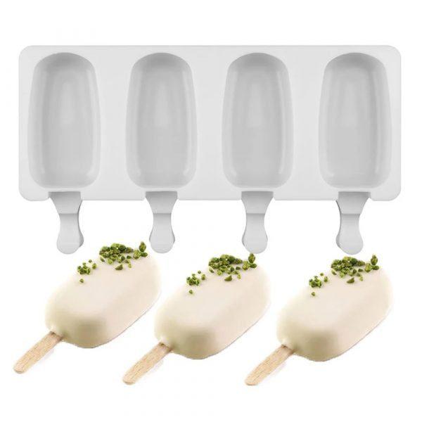 תבנית סיליקון להכנת ארטיקים וגלידות