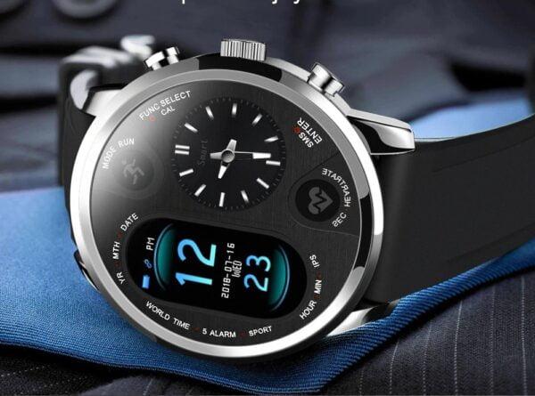 שעון גברים חכם אלגנטי נטען