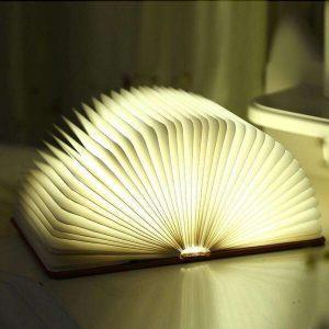 תאורת ספר לד דקורטיבית נטענת