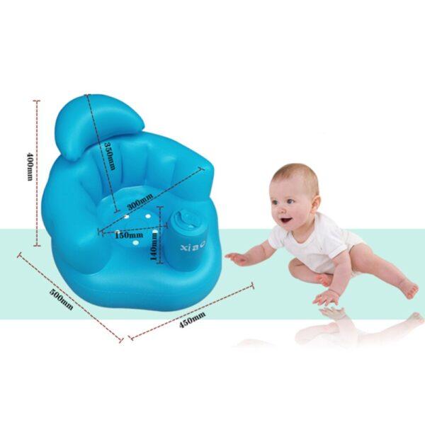 מושב תינוק מתנפח