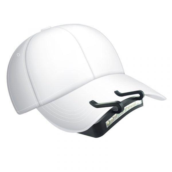 פנס לד מעוצב לכובע