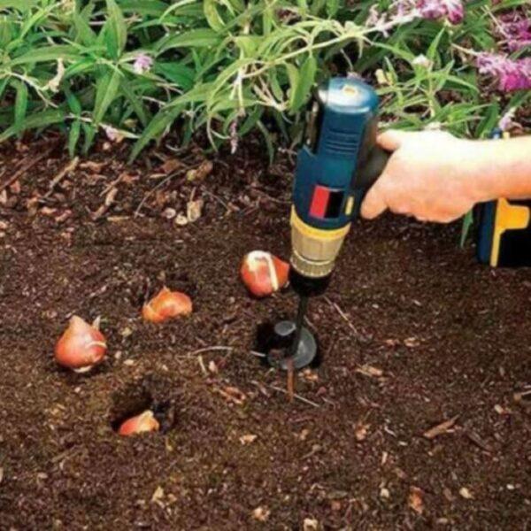 ביט מברגה לחפירה באדמה בקלות