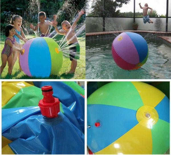 כדור מזרקת מים לילדים
