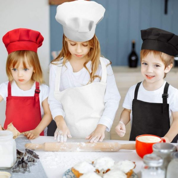 סינר וכובע שף לילדים
