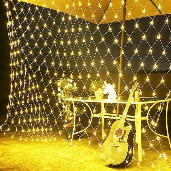 רשת תאורת לד דקורטיבית
