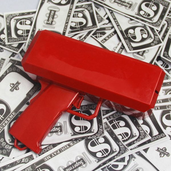אקדח שטרות כסף