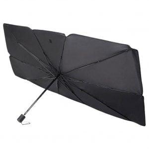 מגן שמש בעיצוב מטריה לרכב