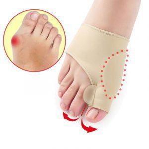 זוג גרביי לחץ מישרות עצם בולטת בכף הרגל