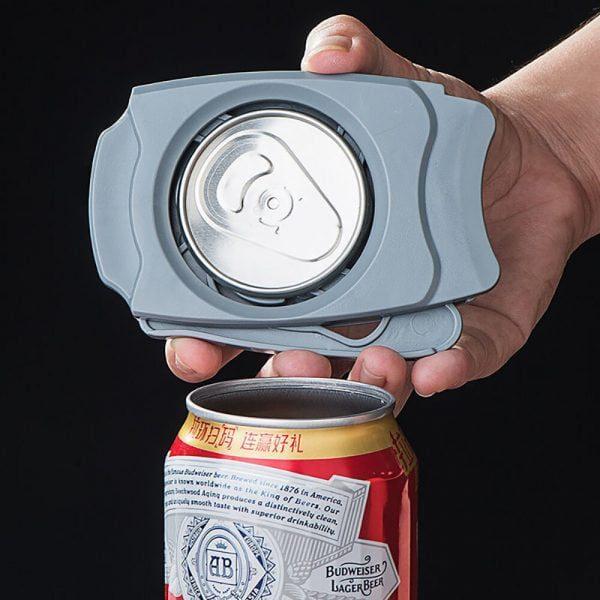 פותחן להסרת ראש פחיות שתייה לשתות בקלות ממש כמו מהכוס